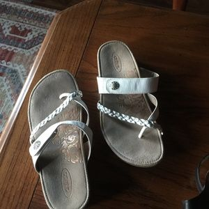 Aetrix Sandals, 100% leather Exe. Condition